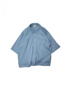 Jie-19HS-SH02-B DRAW CODE SHIRT BLUE