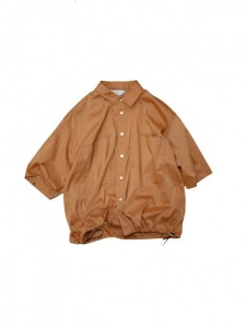 Jie-19HS-SH02-B DRAW CODE SHIRT ORANGE